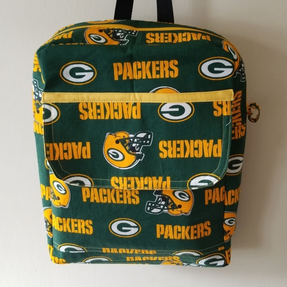 3b13b3583b97 HANDMADE Handbags - GREEN BAY PACKERS BACK PACK.